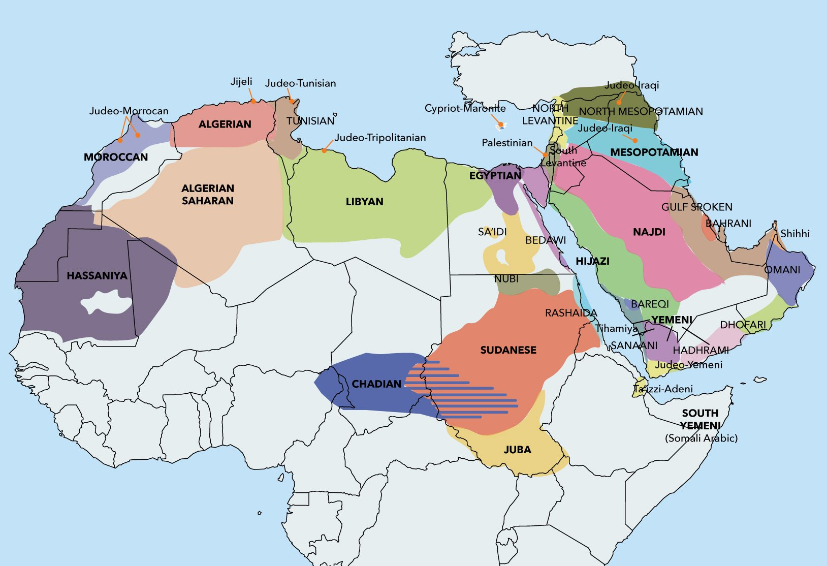 arabic-dialect-map-industryarabic
